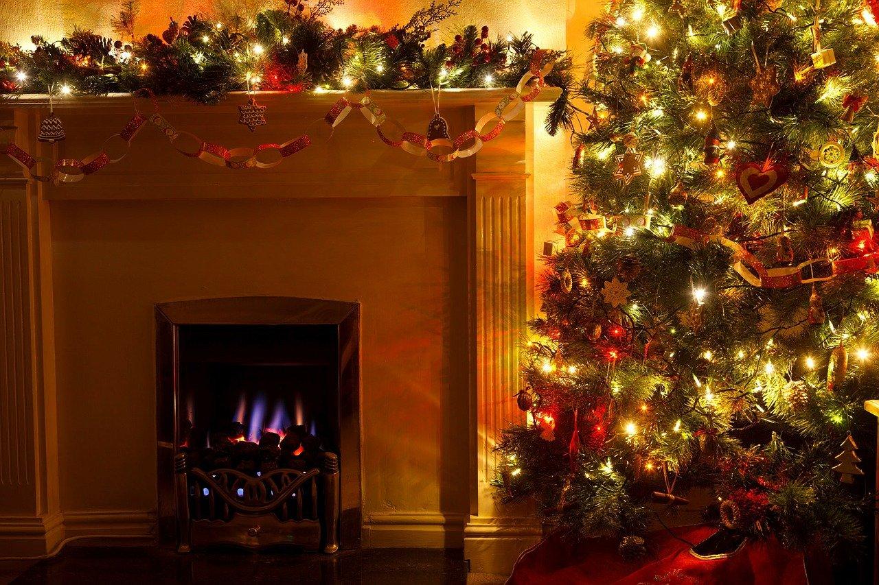 christmas tree, cozy, december