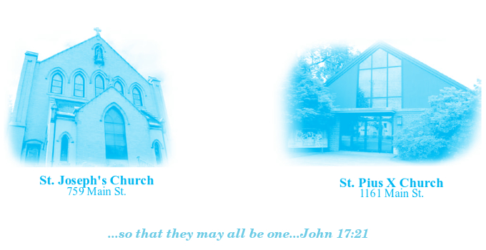 St. Joseph Parish and St. Pius X Parish