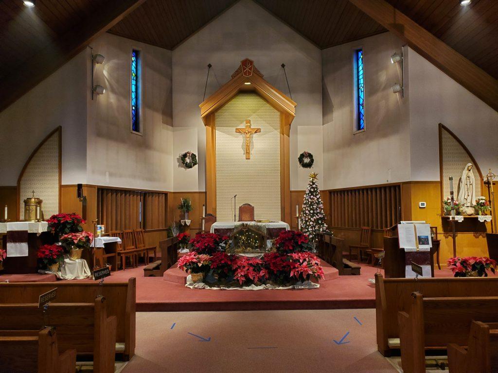 St. Pius X Altar