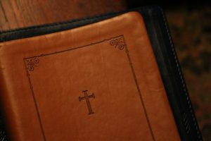 bible, book cover, leather texture