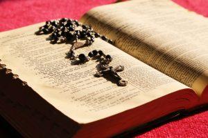 bible, rosary, prayer