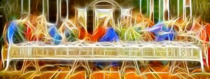 last supper, board, christianity