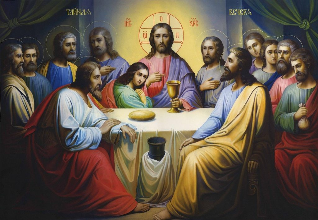 icon, lord's supper, religion