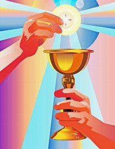 holy communion, catholic, eucharist